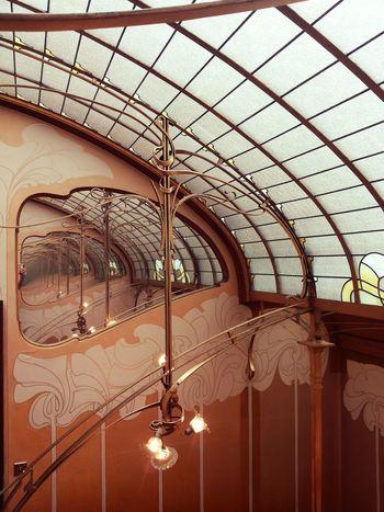 Maison Horta, Brussels Art Nouveau Style Beautiful Brussels Indoors  Liberty Maison Horta Monuments No People Sculpture Style