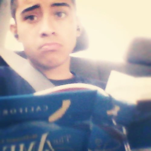 On the road doing homework  Sunday Schoolflow  HomeworkOnASunday Waaah