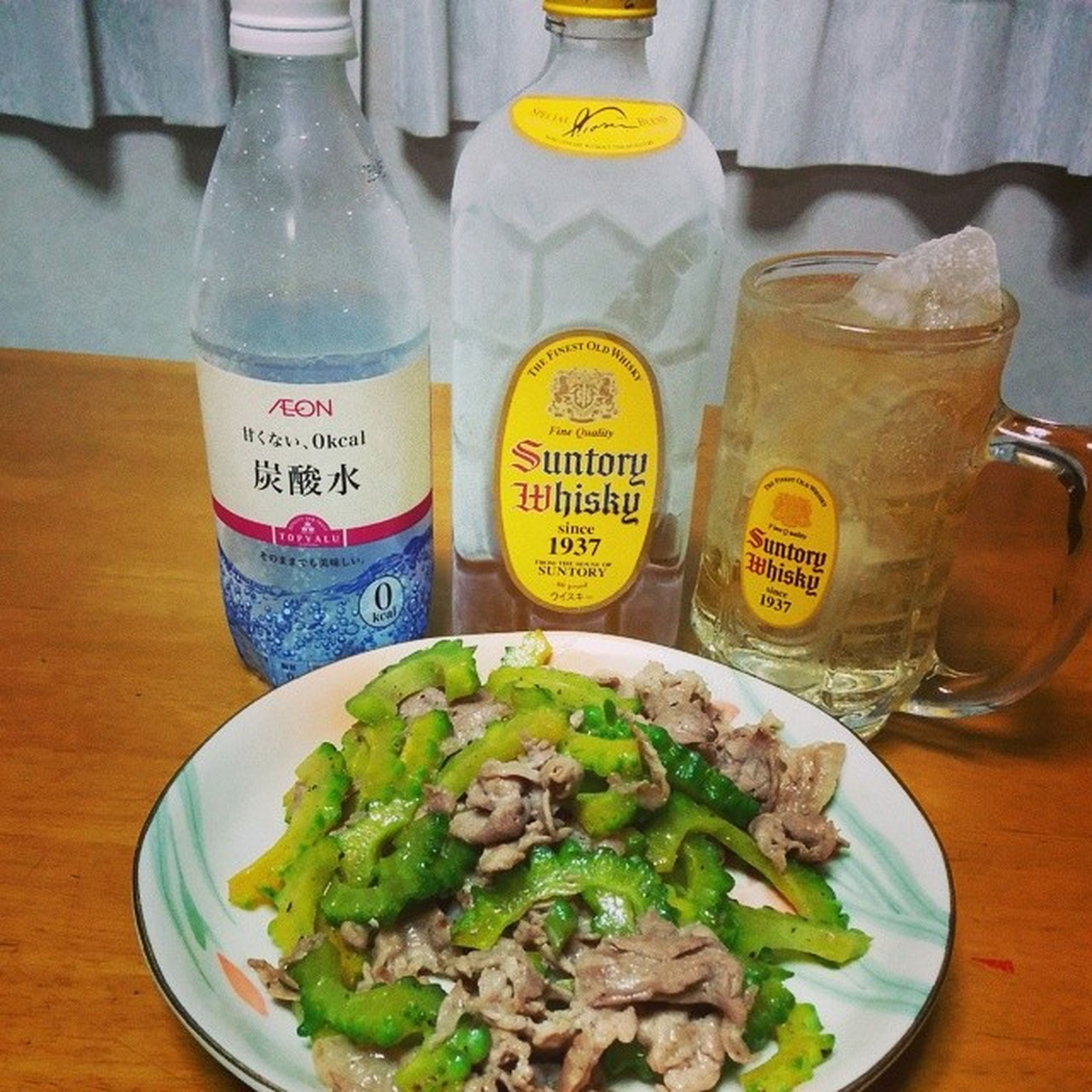 food and drink, indoors, food, freshness, still life, table, healthy eating, plate, ready-to-eat, drink, drinking glass, text, refreshment, high angle view, close-up, variation, serving size, western script, no people, jar