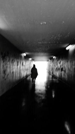 Light And Shadow Light In The Darkness Streetphoto_bw Street Life Street Lightattheendofthetunnel