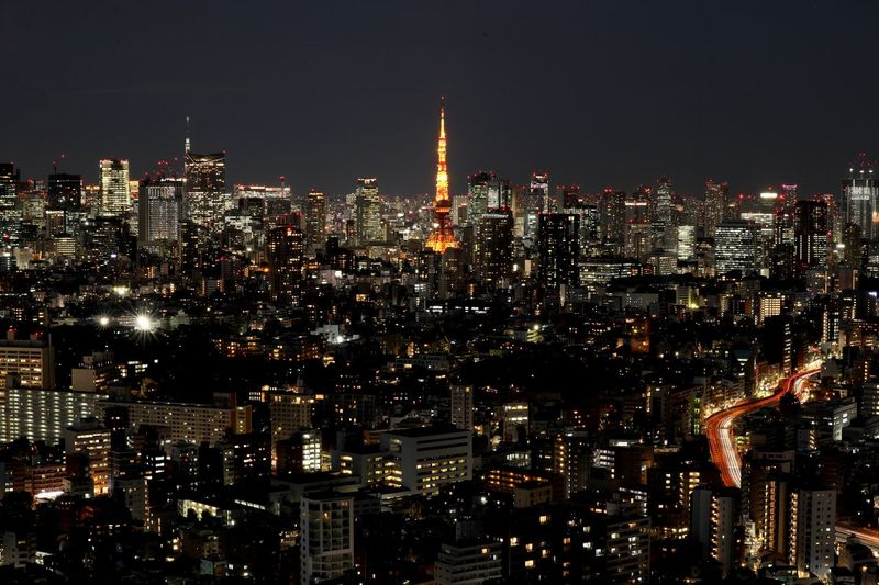 Building Exterior City Architecture Cityscape Night Built Structure Illuminated Building Office Building Exterior Crowd Skyscraper Crowded Sky Modern Tall - High City Life Urban Skyline Tower Outdoors Spire  Financial District  Nightlife Tokyo Tokyo Tower