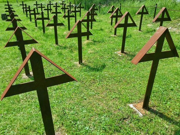 WWI Military Cemetery, Asiago Highland, Vicenza, Italy Travel Traveling Italy Asiago Photography Art Fineart Wwi Crosses Burials