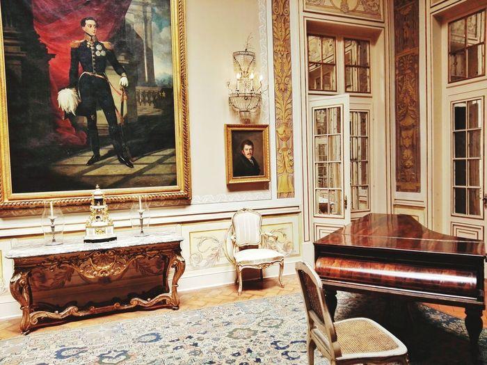 Staircase Architecture Indoors  Elégance Gold Colored No People Luxury Day Palácio De Queluz Palace Museum