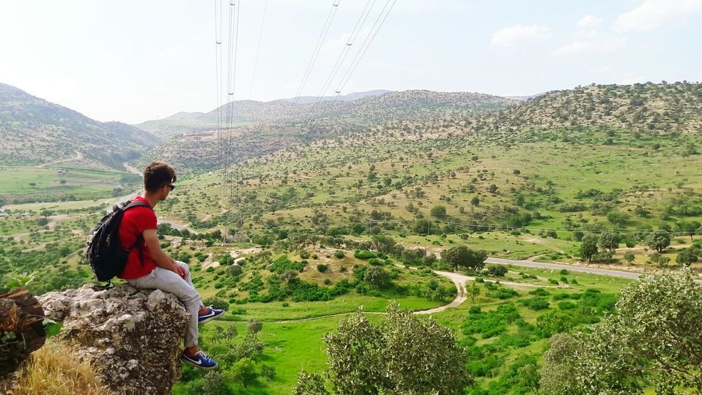 I'm thinker not talker ☺ Boy Adventure Kurdboy Goodday Duhok Blue Sky Kurdish Hello World Photography Kurdistan Kurdishboy Morning