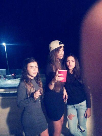 Night Friends Redcups
