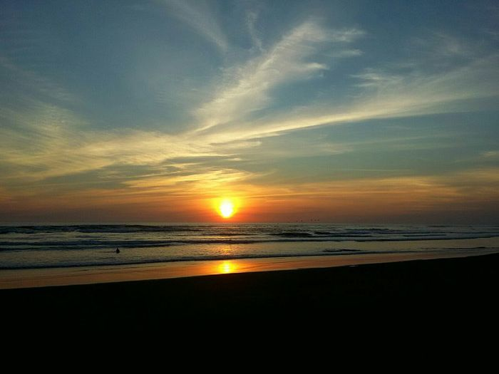 beautiful beach at sivar La Costa Del Sol First Eyeem Photo Sunset Landscape