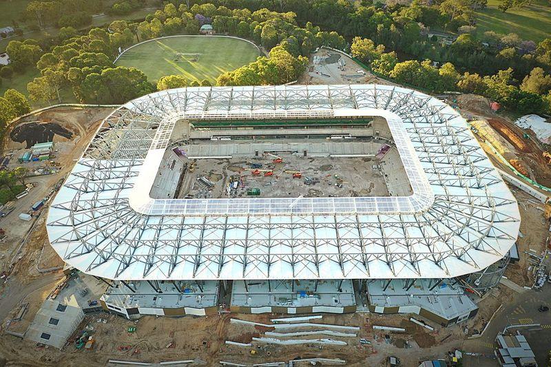 Stadium under