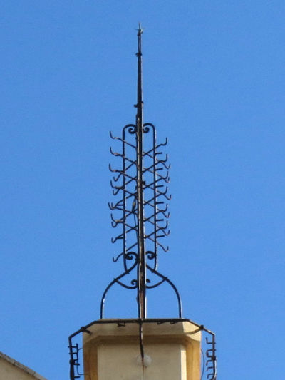 Antenna - Aerial Architecture Broadcasting Clear Sky Italy No People Telegraph Telegraph Pole