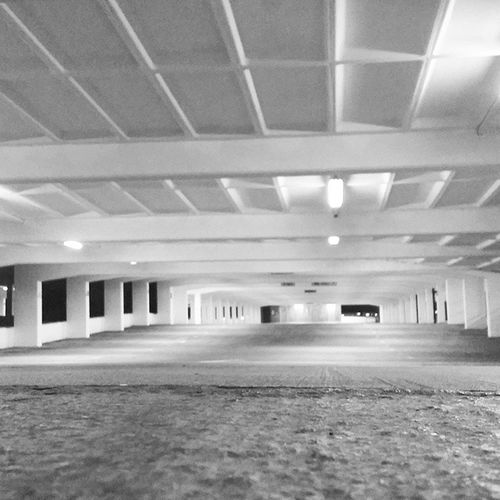6th floor of the Victoria Centre car park, loved how empty is was. Car Park Halloween Antics empty