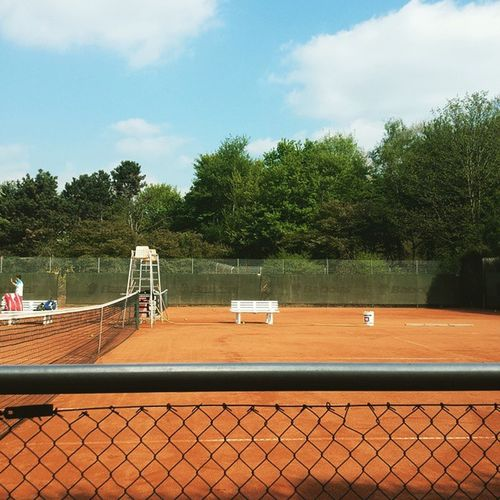Best part of the office job. Driving the bosses son to tennis.. Fahrservice Notintheoffice
