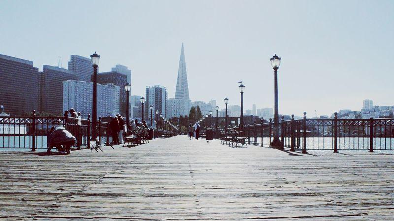 San Francisco Skyline City Pyramid Transamerica Pyramid Pier OpenEdit Protecting Where We Play Pier7