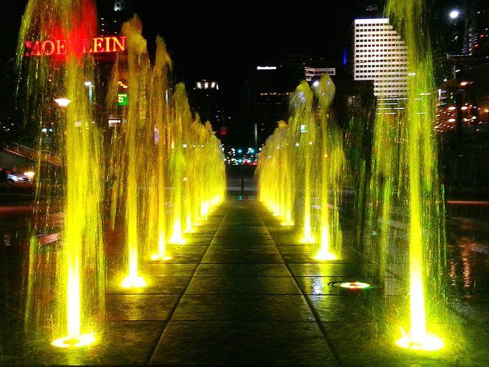 Cincinnati Cities At Night Smartphonephotography