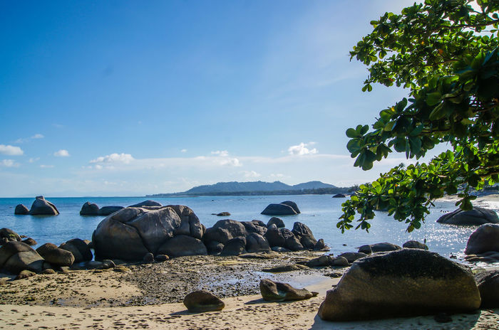 Sky And Clouds Thailand Travel Beach Beauty In Nature Beauty In Nature Blue Day Nature Ocen  Outdoors Samui Island Scenics Sea Sea And Sky Sea Scape Sky Tourism Water Water Surface