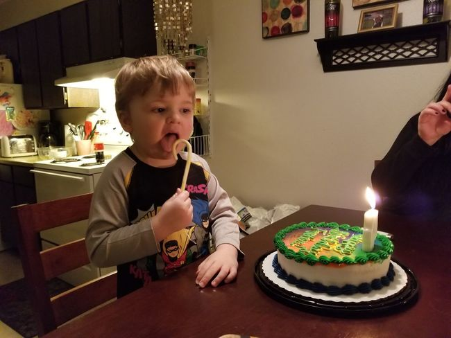EyeEm Selects Candle Birthday Cake Indoors  Cake Birthday Candles Birthday Child Home Interior People Childhood Sweet Food One Person Celebration Burning One Girl Only Domestic Life Blond Hair Sitting Flame Children Only
