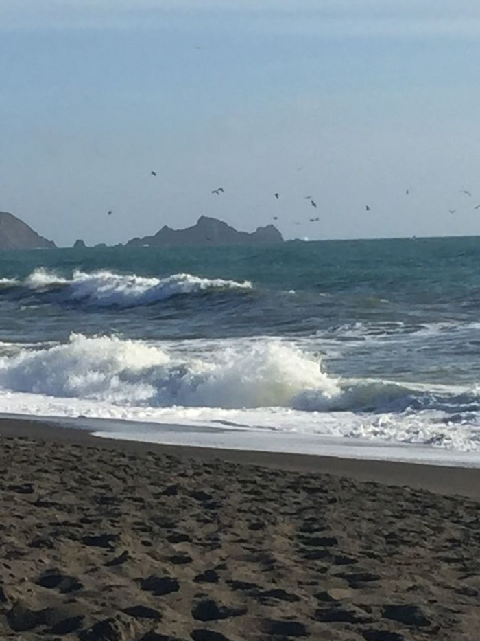 The mighty Pacific Ocean from Pacifica CA