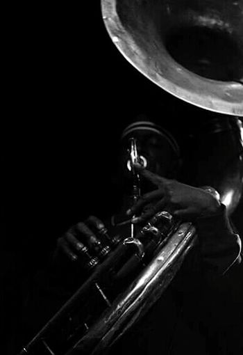 Brass Band Musician For The Love Of Music Live Music Dirty Dozen Brass Band Black And White Photography Black & White Black And White Collection