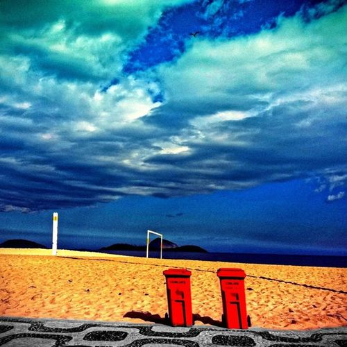 Ipanema beach...
