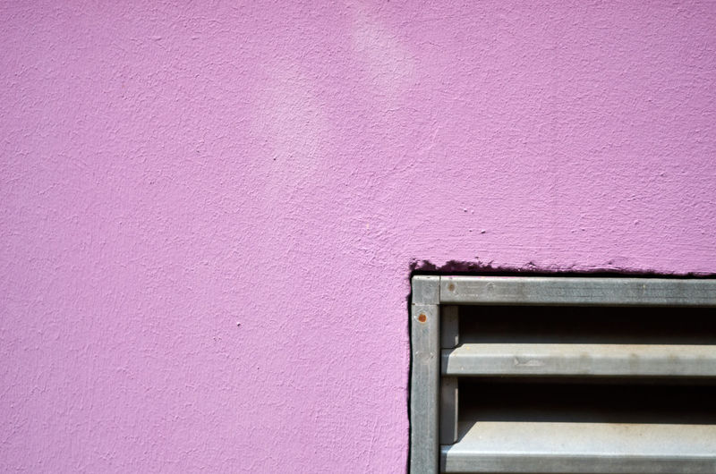 Close-up of purple wall