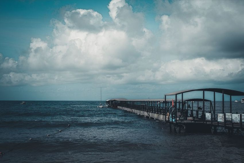 Sea Water Sky Cloud - Sky Horizon Over Water Beach EyeEmNewHere Nature Beauty In Nature