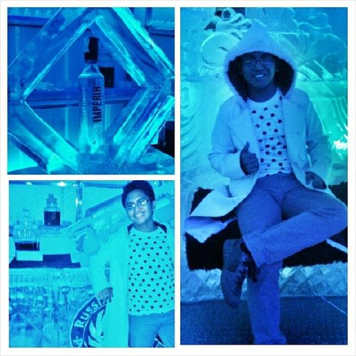 Lived for the night last Friday at Imperial ice bar fort... and treated like a king after. Workhardpartyharder Yolo BGC Imperial russian