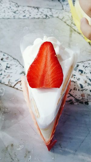 Icecreamcake  Food And Drink Freshness Strawberry
