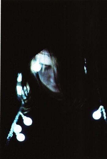 Olya Garland Lights Film Zenit 35mm My_Photography