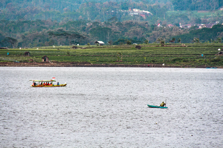selorejo dam pujon malang indonesia Dam Mountain Agriculture Landscape Bale  Farmland Plough Hay Bale Rice Paddy Oilseed Rape Vineyard Farm Crop  Agricultural Field Plantation Cultivated Land Jet Boat Inflatable Raft Astrology Sign Boat Moored River Hiker Visiting Kayak Rafting Raft Life Jacket Oar Paddling