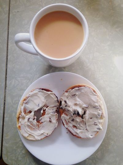 Tea & Begal. Brunch Relaxing Yummy Foodie