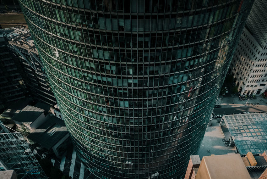 - A = ARCHITECTURE - Architecture Berlin Photography Check This Out The Architect - 2018 EyeEm Awards Architecture Building Building Exterior Built Structure Business City Day Glass - Material Modern No People Office Office Building Exterior Outdoors Pattern Reflection Skyscraper Tall - High Tower Travel Destinations