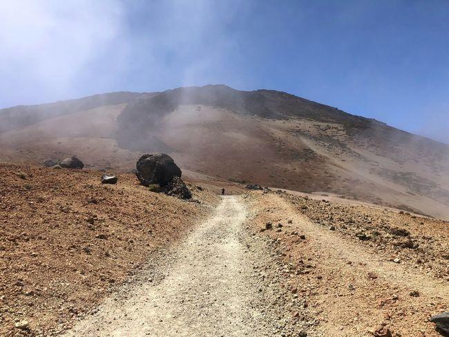Teide National Park, Tenerife 🇪🇸 Rock - Object Hiking Cloud - Sky Mount Teide Volcano Teide Teide National Park Tenerife SPAIN Mountain Nofilter Land Scenics - Nature Landscape Beauty In Nature Sky Mountain Tranquility Desert Nature Tranquil Scene Remote Outdoors Sunlight