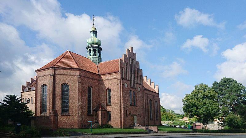 This is where I work Church Messiaskirken Messiahchurch