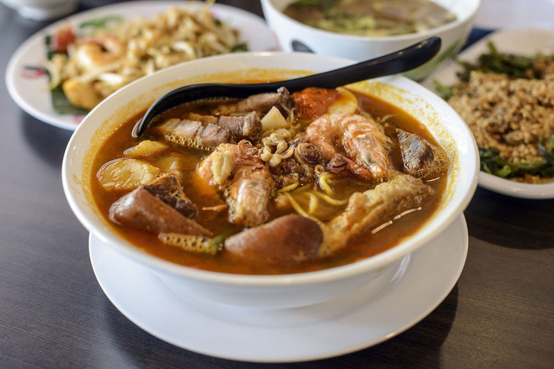 Bowl Close-up Food Food And Drink Freshness Hokkien Indoors  No People Noodles Penang Food Pork Prawn Ready-to-eat Soup Stew Table