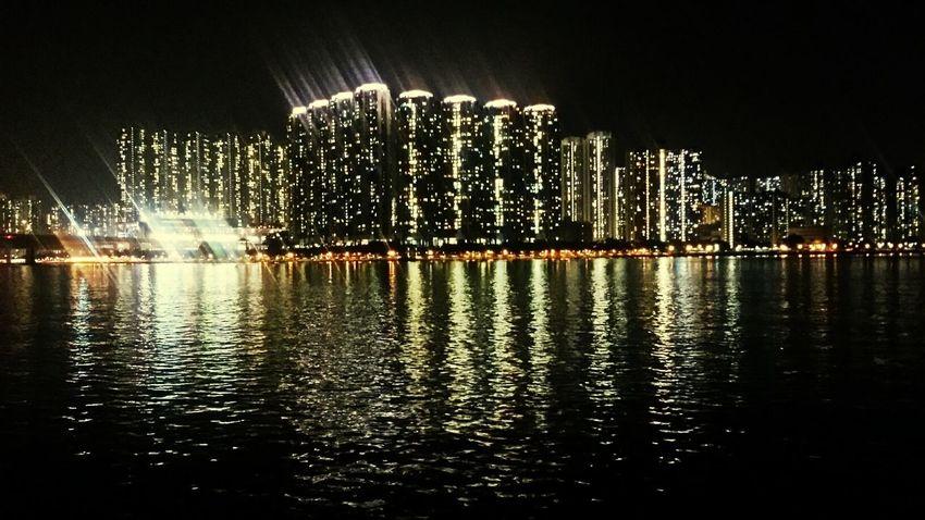 Nightview HongKong Tsuen Wan Nightshot