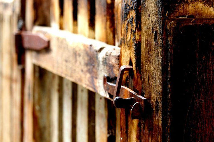 Rusty Latch History Sheep Pen Woolshed Gate The Photojournalist - 2017 EyeEm Awards