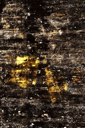 Yellow and black painted urban wall decay abstract in Penang, Malaysia Backgrounds Abstract Full Frame Textured  No People Nature Outdoors Day Close-up Wall Black Color Pattern Nawfal Penang, Malaysia Multi Colored Illuminated Painted Walls Wall Decay Textured  Golden Heat - Temperature