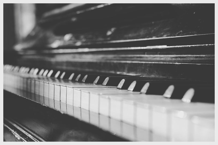 """""""Piano"""" Blackandwhite Blackandwhite Photography Blackandwhitephotography Black And White Black And White Photography EyeEm Best Shots - Black + White Musical Instrument Piano Music Piano Key Arts Culture And Entertainment Close-up Pianist Classical Music"""
