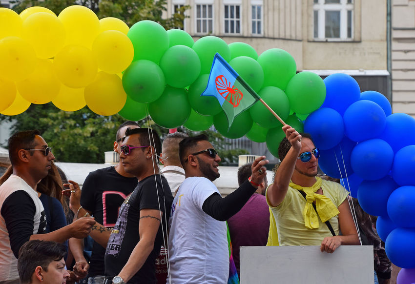 Prague Pride 2017 2017 Colors Protest SUPPORT Tolerance Balloon Celebration Day Festival Friendship Large Group Of People Lgbt Lgbt Pride Love Men Multi Colored Parade People Pride Rainbow Real People Rebel Society Solidarity Togetherness