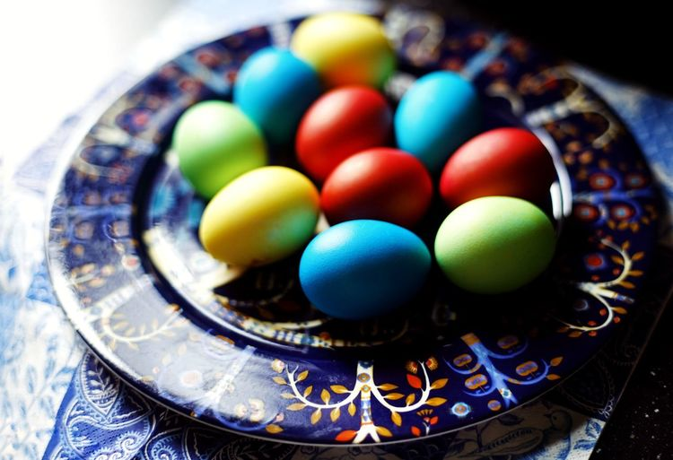 The Still Life Photographer - 2018 EyeEm Awards SONY A7ii Plate Close-up Food EyeEm Selects Multi Colored Close-up Easter Egg Easter