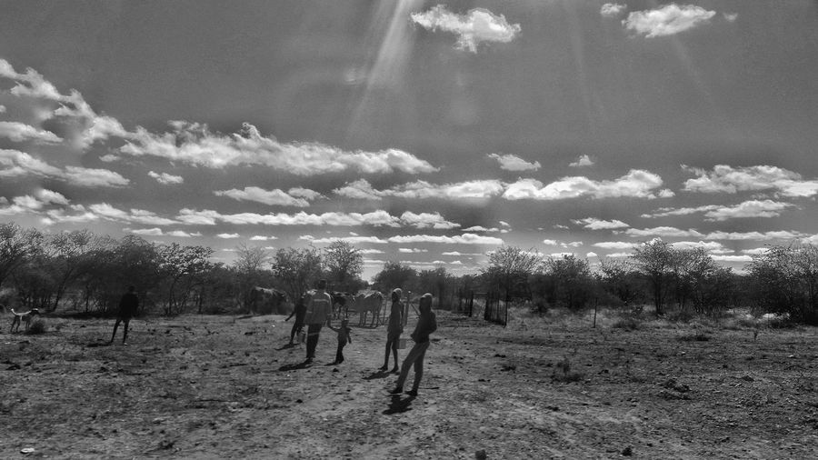 Samsung S5 Shot Nature Field Sky Tree Outdoors Beauty In Nature The Great Outdoors - 2017 EyeEm Awards Faces Of EyeEm Faces Of Africa Forest Adventure Change Your Perspective Real People South Africa The Street Photographer - 2017 EyeEm Awards Nature Blackandwhite Photography Art Is Everywhere