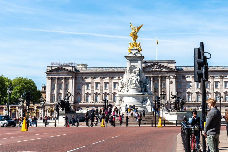 Brexit Britain Buckingham Buckingham Palace London Queen Uk Victoria Architecture Blue British Building Capital City Culture Destinations Elizabeth England English Europe European  Famous Gold Guard Historic History KINGDOM Landmark Memorial Monarchy Monument Old Palace People Place Royal Royalty Sculpture Sightseeing Sky Statue Sunny Tourism Tourist Tradition Traditional Travel United Weather Westminster