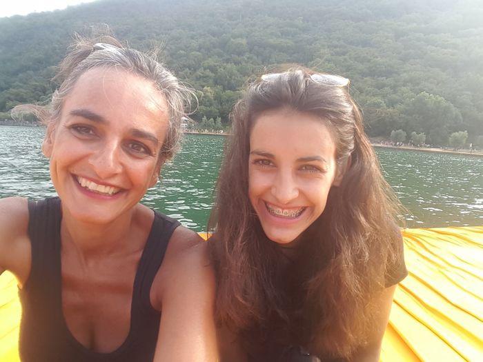 FloatingPiers Iseo Lake Zelenezen Mother & Daughter Christo