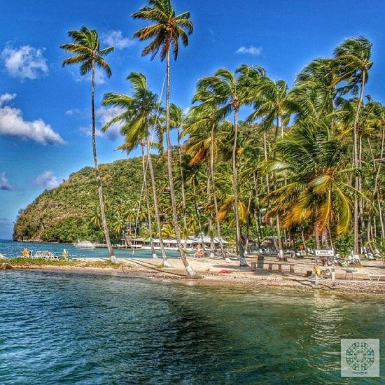 Marigot Bay / Sankt Lucia Carebean Cloud Sky Cruise costa mediterranea marigot marigot_bay st_lucia holiday memories travel 2012 stlucia