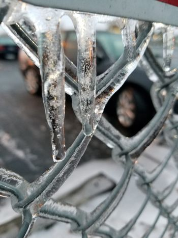 Metal Close-up Cold Temperature Winter Snow Focus On Foreground No People Ice Day Outdoors Icicles
