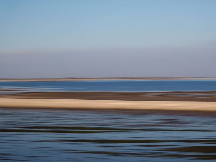 Nordsee Wischer Sea Water Nature Tranquility Tranquil Scene Beach Scenics Beauty In Nature Outdoors Motion Sand EyeEmNewHere