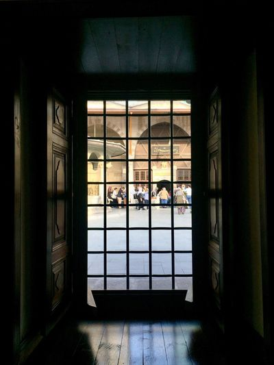 Window Indoors  Architecture Built Structure Real People Day Looking Through Window Men People