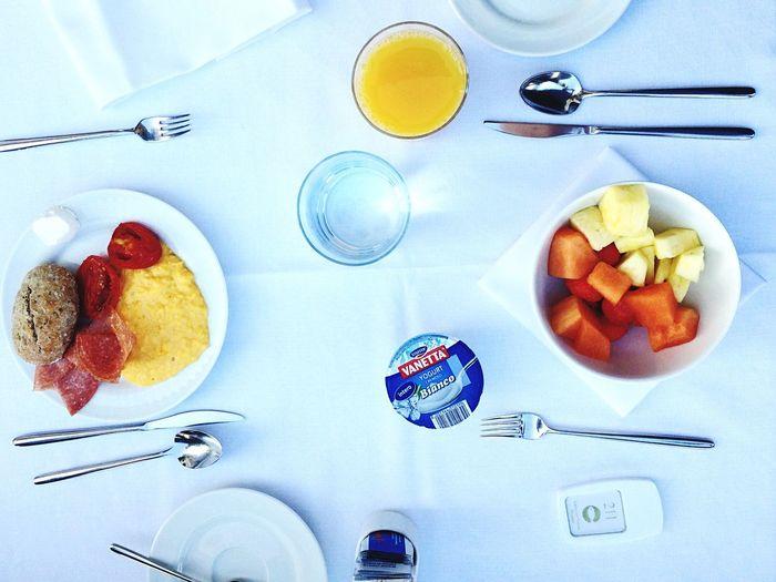 Breakfast White Fruit