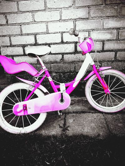 Pink Color No People Outdoors Bicycle Day PINKY Pink Bike Nopeople Pinkgirlbike