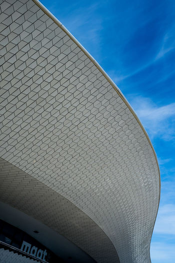 Amanda Levete Architecture Architecture Architecture_collection Blue Lisbon Low Angle View Maat Museum Museum Of Art Architecture And Technology No People Outdoors Portugal Sky