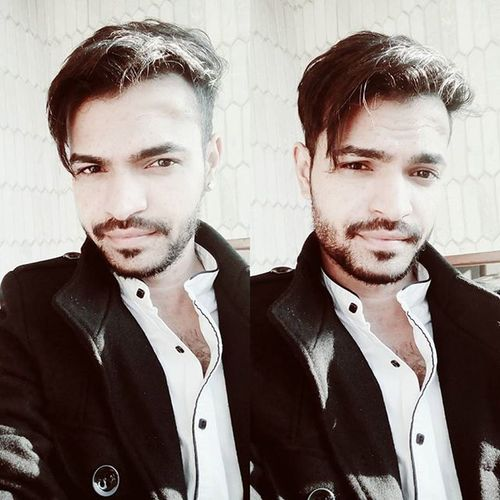 Black &white Haircut Hairstyle Mensoutfit Menshaircut Winterwear Style4guys