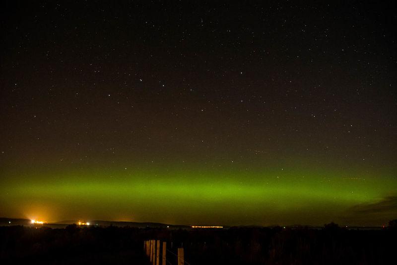 Aurora Aurora Borealis Green Green Green!  Nairn Nightphotography Northern Lights Beauty In Nature Scottish Highlands